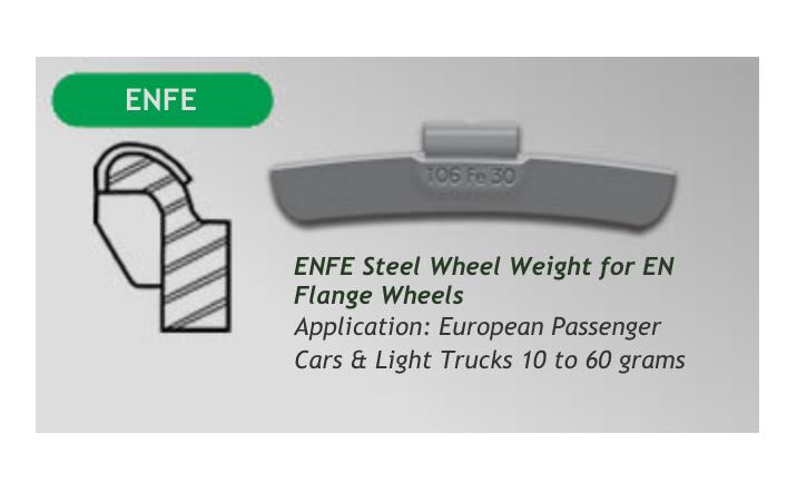 Bada Steel Wheel Weights