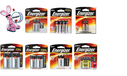 Energizer Carded Batteries