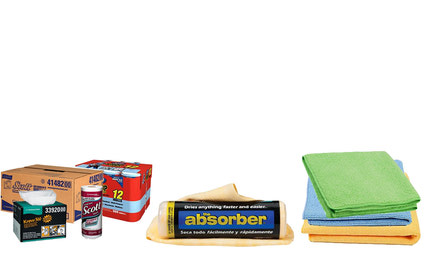 THE ABSORBER – Chamois – Microfiber Rags – Shop Towels – Etc.