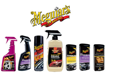 Meguiar's Cleaning-Waxing-Shining Products