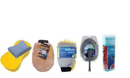 Sponges & Wash Mitts