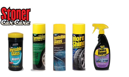 Stoner Glass Cleaner, Tire Care